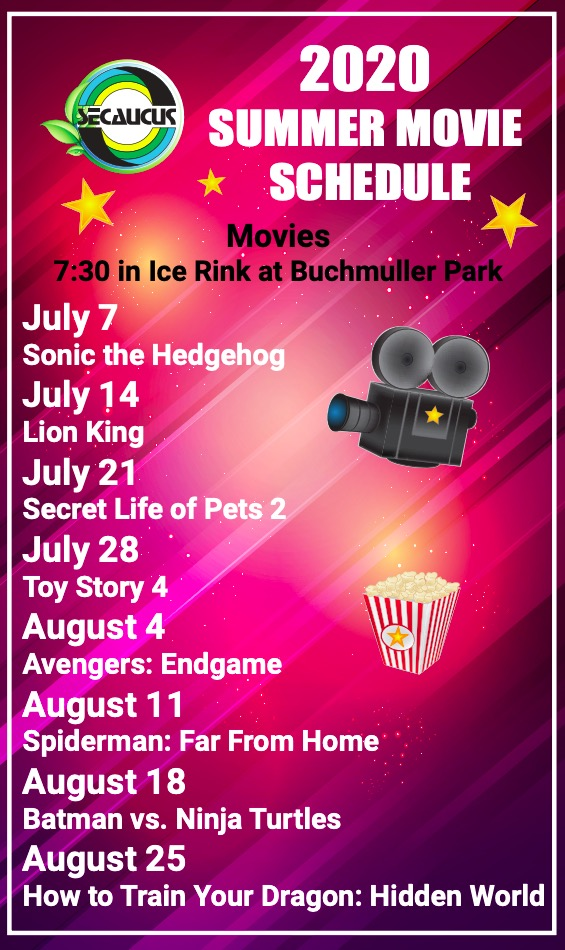 Summer Movies - click for pdf